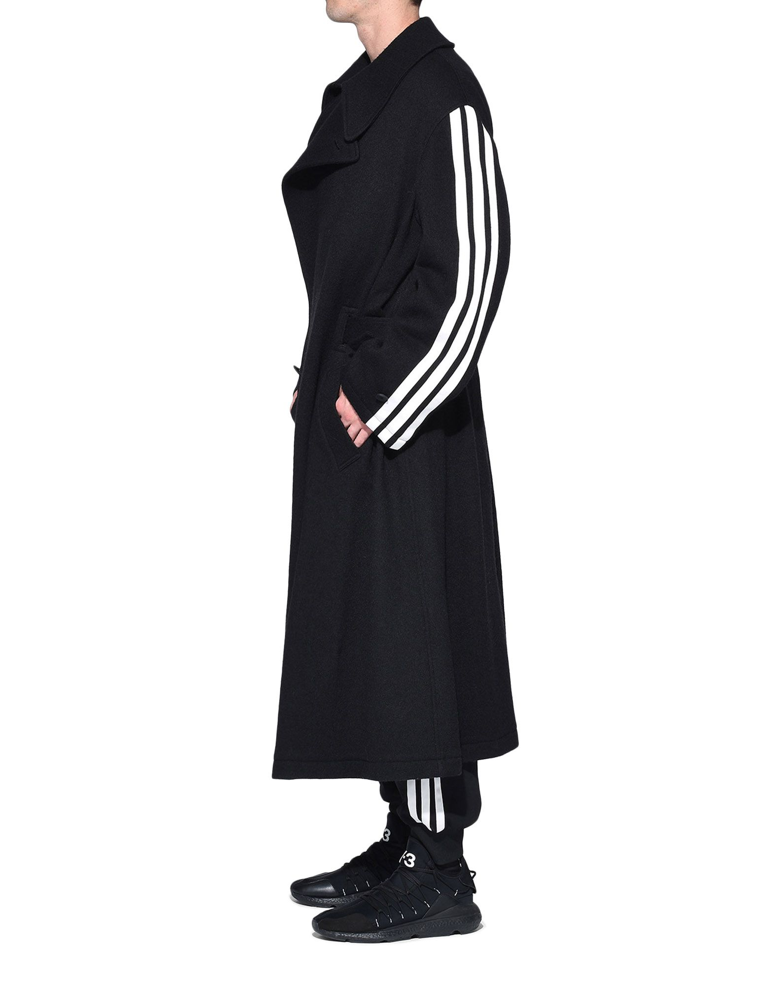 Y-3 Y-3 Tailored Wool Coat Coat Man a