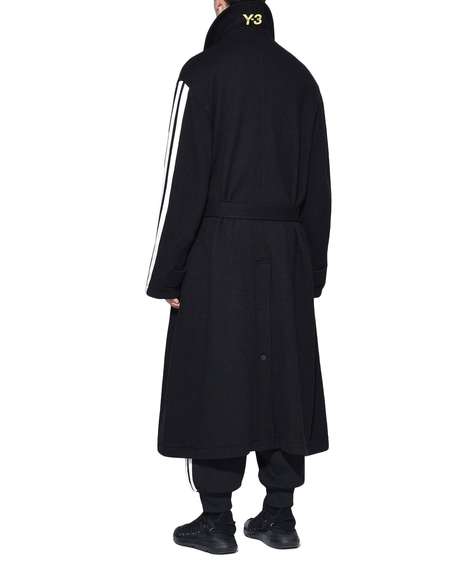 Y-3 Y-3 Tailored Wool Coat Coat Man e