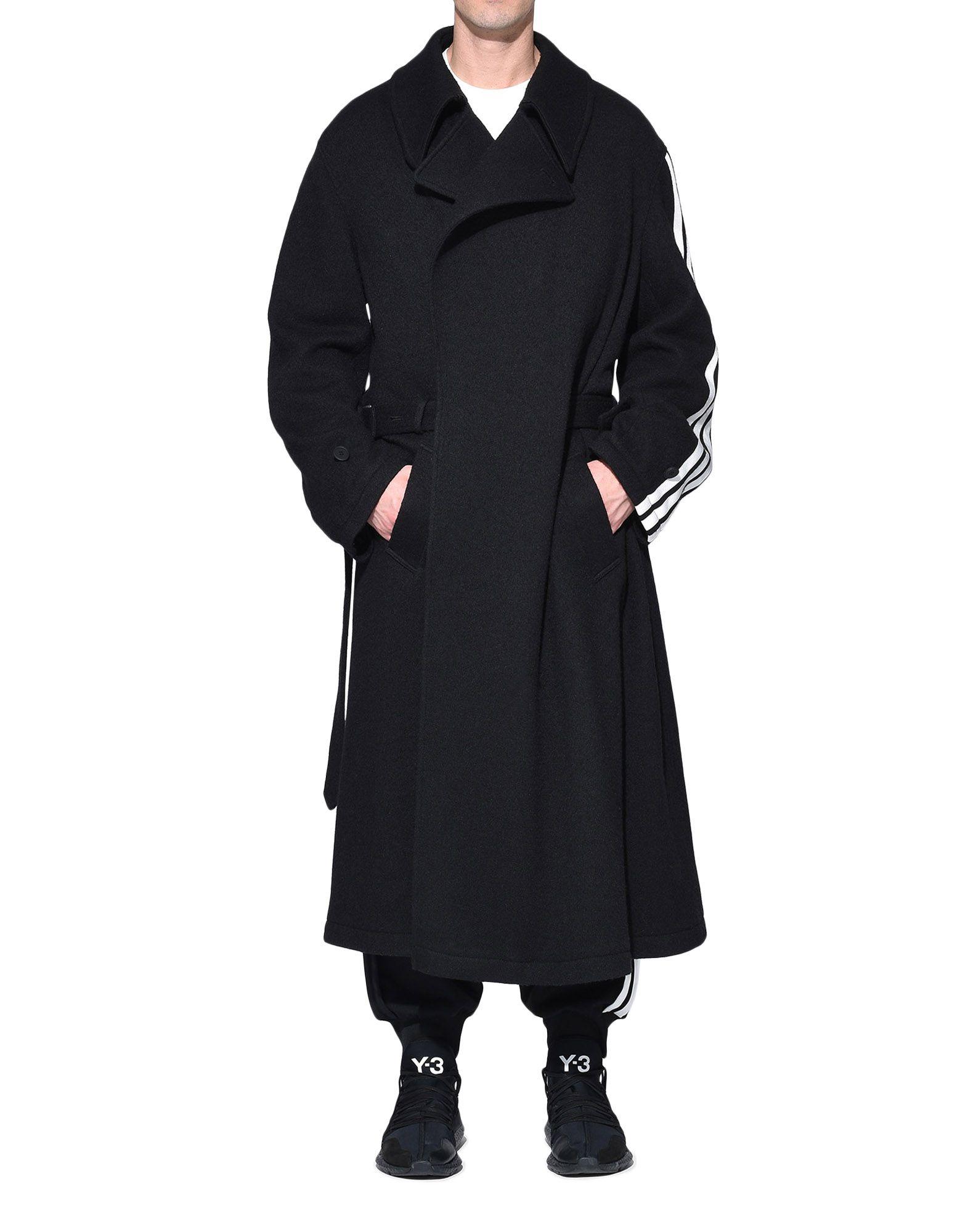 Y-3 Y-3 Tailored Wool Coat Coat Man r