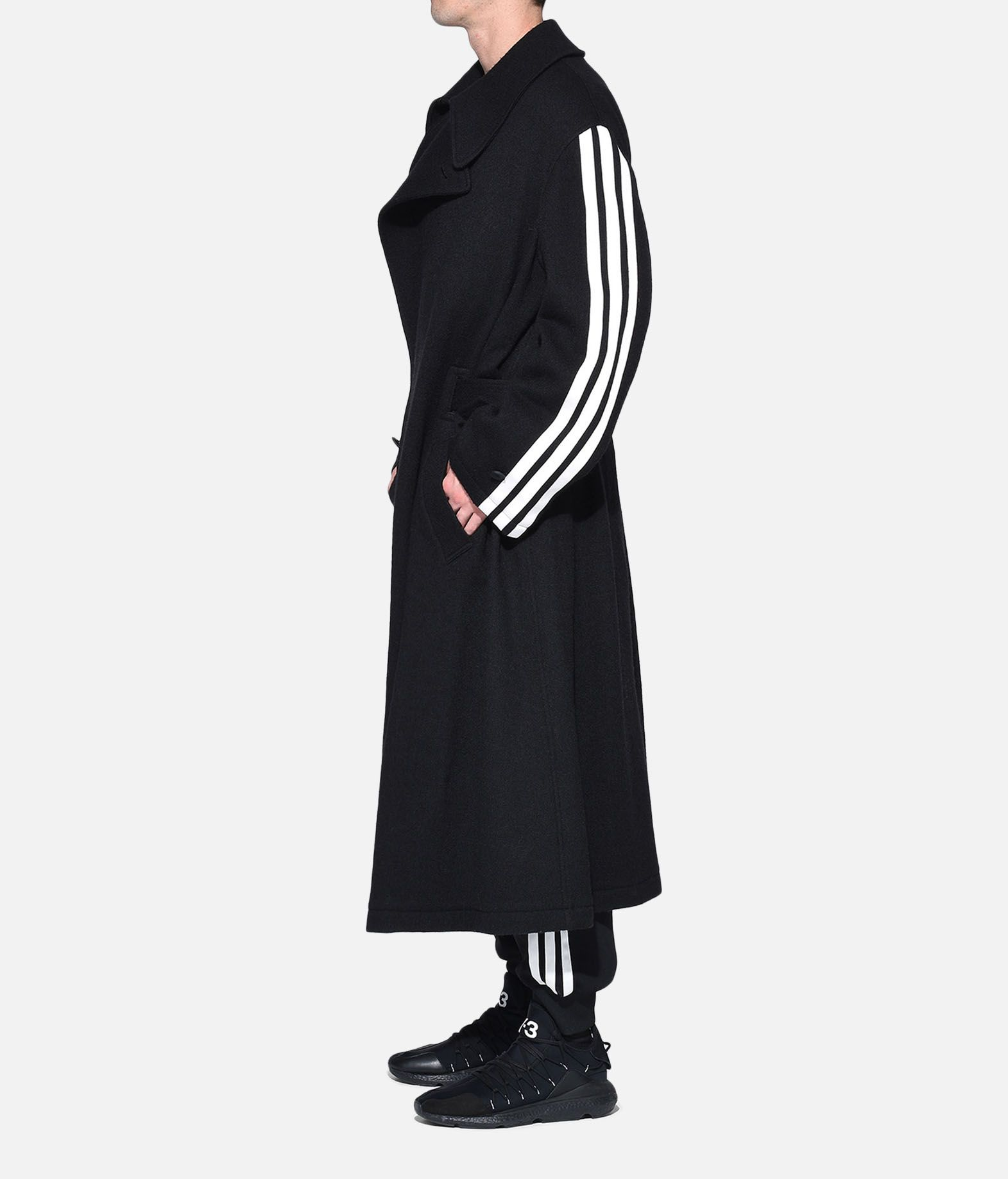 Y-3 Y-3 Tailored Wool Coat Coat Man a