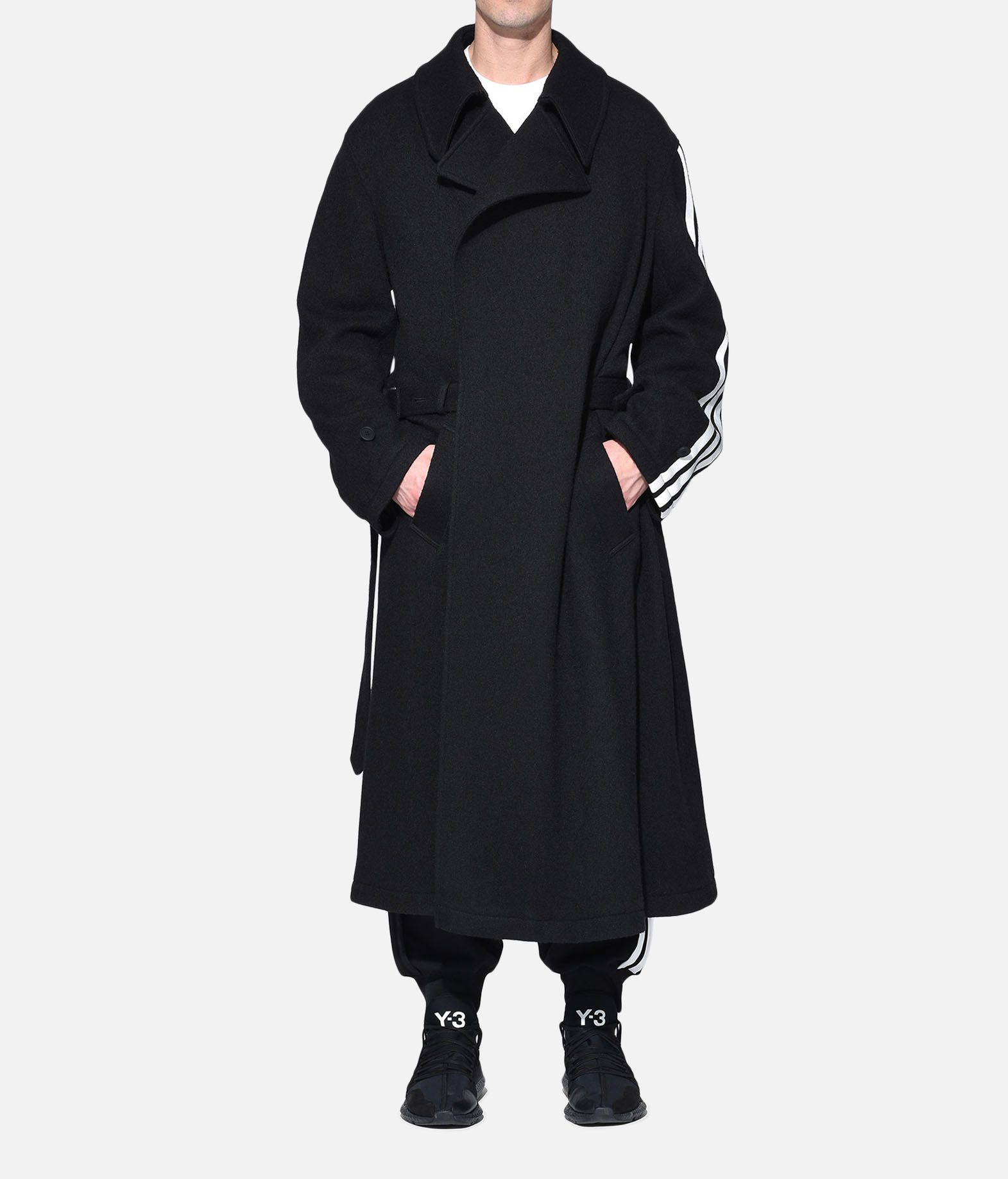 Y-3 Y-3 Tailored Wool Coat Coat Man r