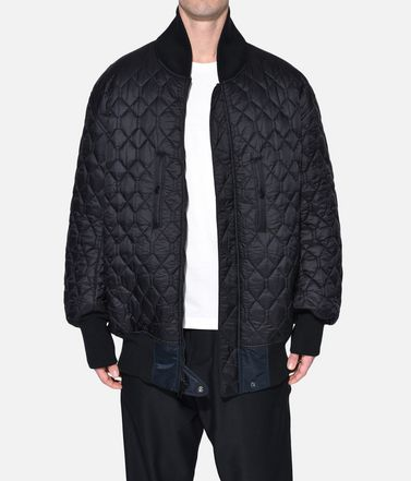 Y-3 Mid-length jacket Man Y-3 Oversize Reversible Bomber Jacket r