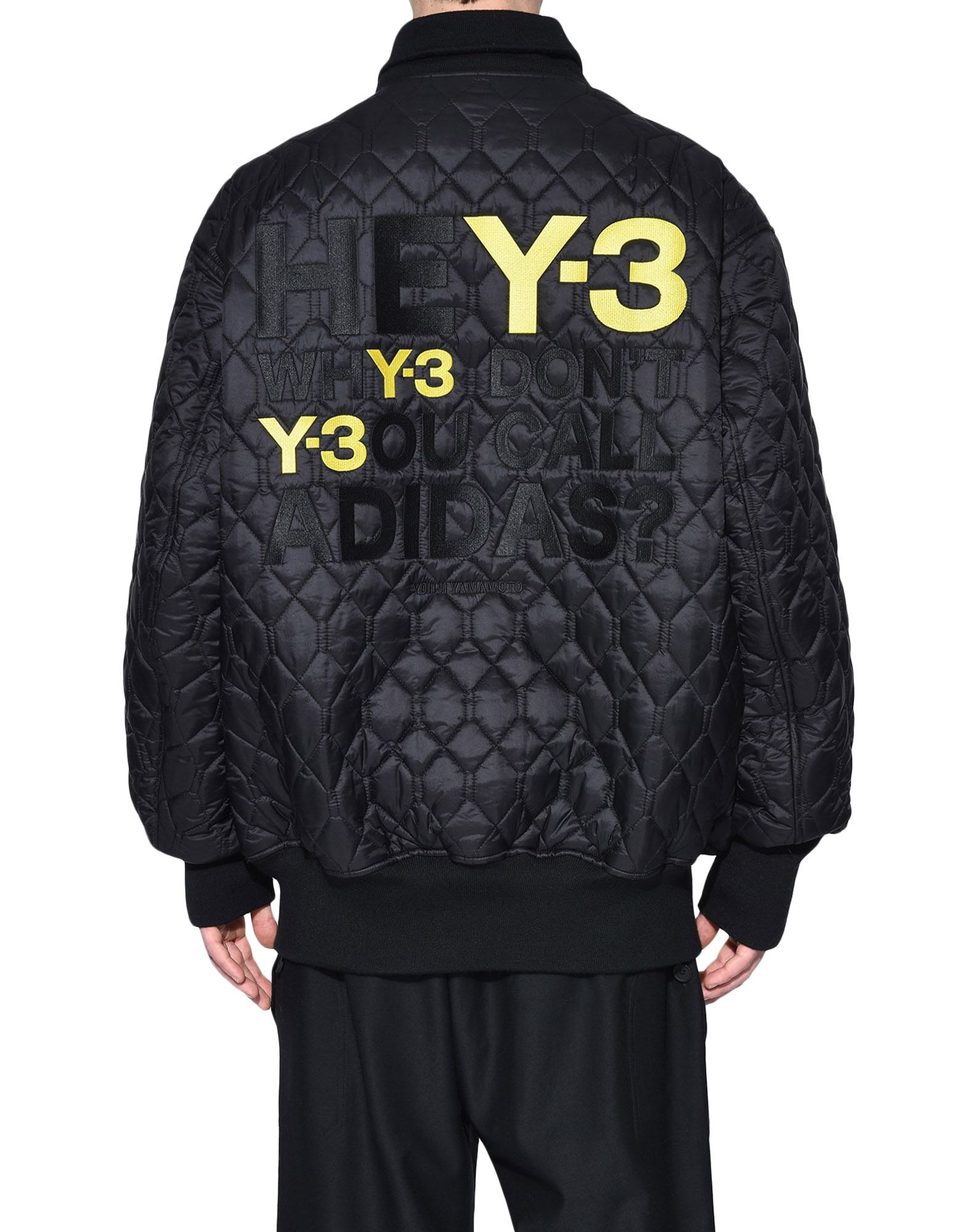Y-3 Y-3 Oversize Reversible Bomber Jacket Mid-length jacket Man d