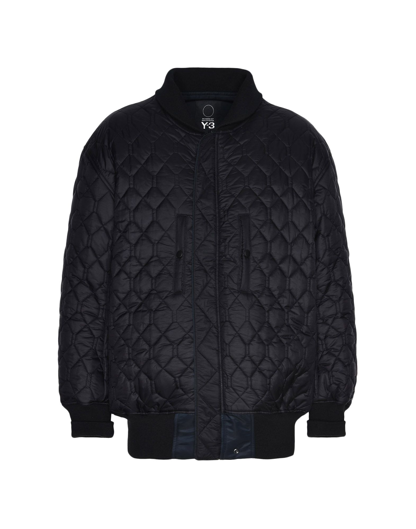 Y-3 Y-3 Oversize Reversible Bomber Jacket Mid-length jacket Man f