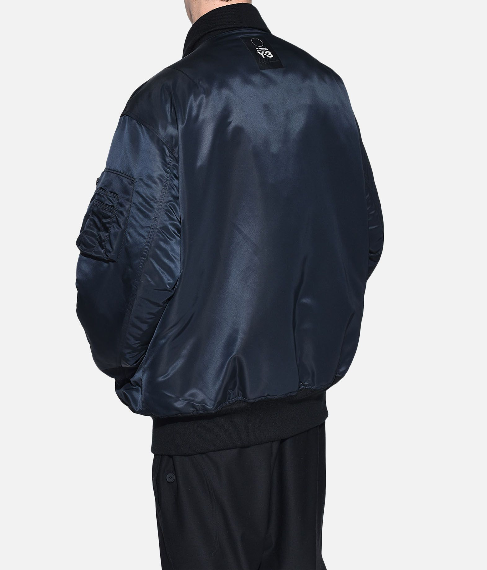 Y-3 Y-3 Oversize Reversible Bomber Jacket Mid-length jacket Man e