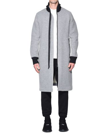 Y-3 コート メンズ Y-3 Spacer Wool Coat r