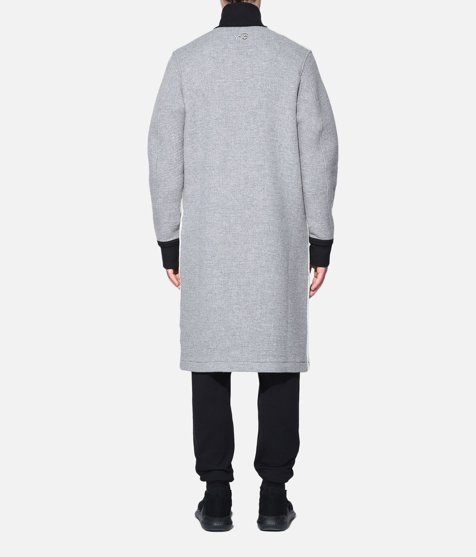 Y-3 Y-3 Spacer Wool Coat Coat Man d