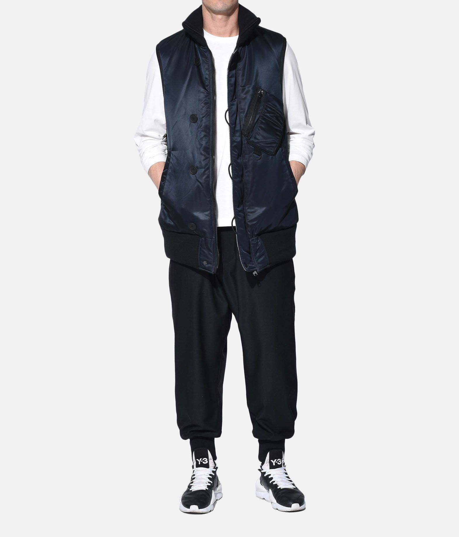 Y-3 Y-3 Oversize Reversible Vest Vest Man a
