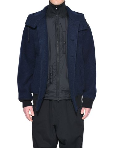 Y-3 Blazer Man Y-3 Wool Jacket r