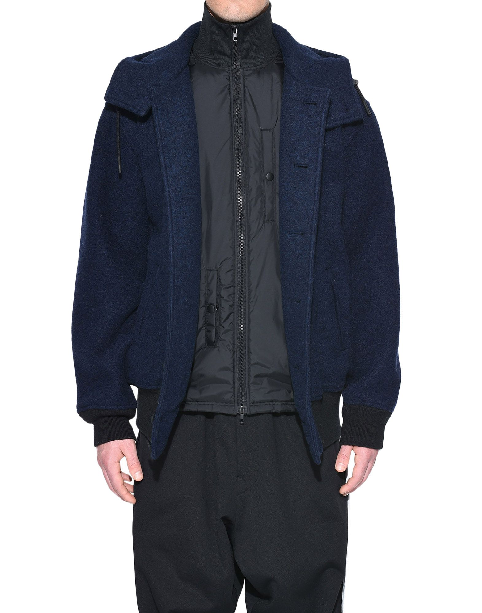Y-3 Y-3 Wool Jacket Blazer Man r