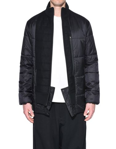 Y-3 ダウン メンズ Y-3 Patchwork Down Jacket r