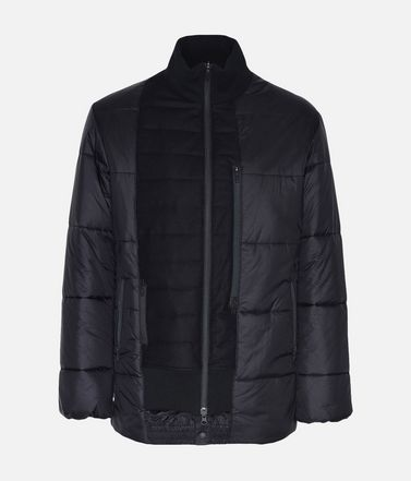 Y-3 Patchwork Down Jacket