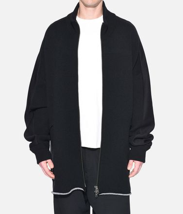 Y-3 Blazer Man Y-3 Knitted Stacked Logo Parka r