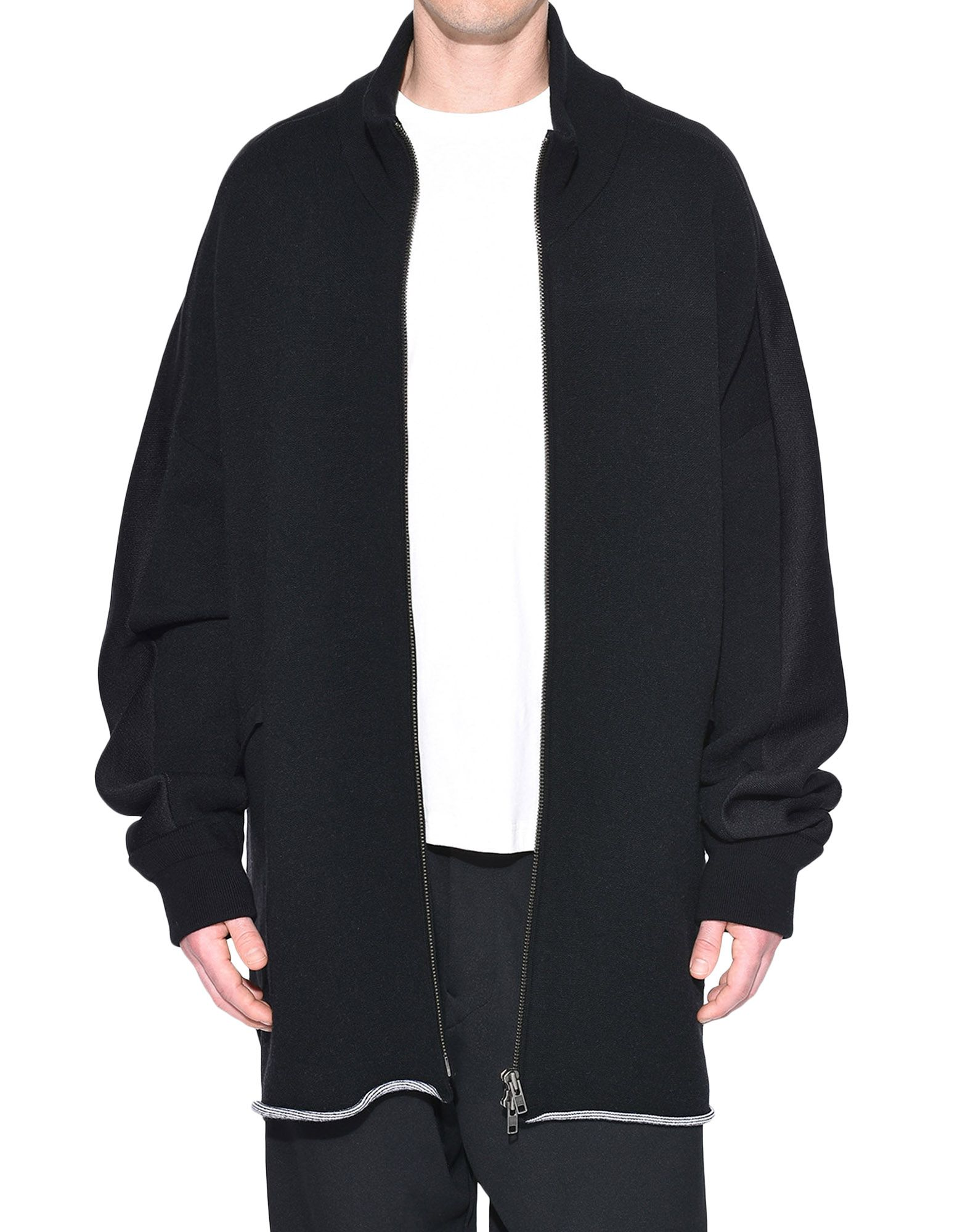 Y-3 Y-3 Knitted Stacked Logo Parka Blazer Man r