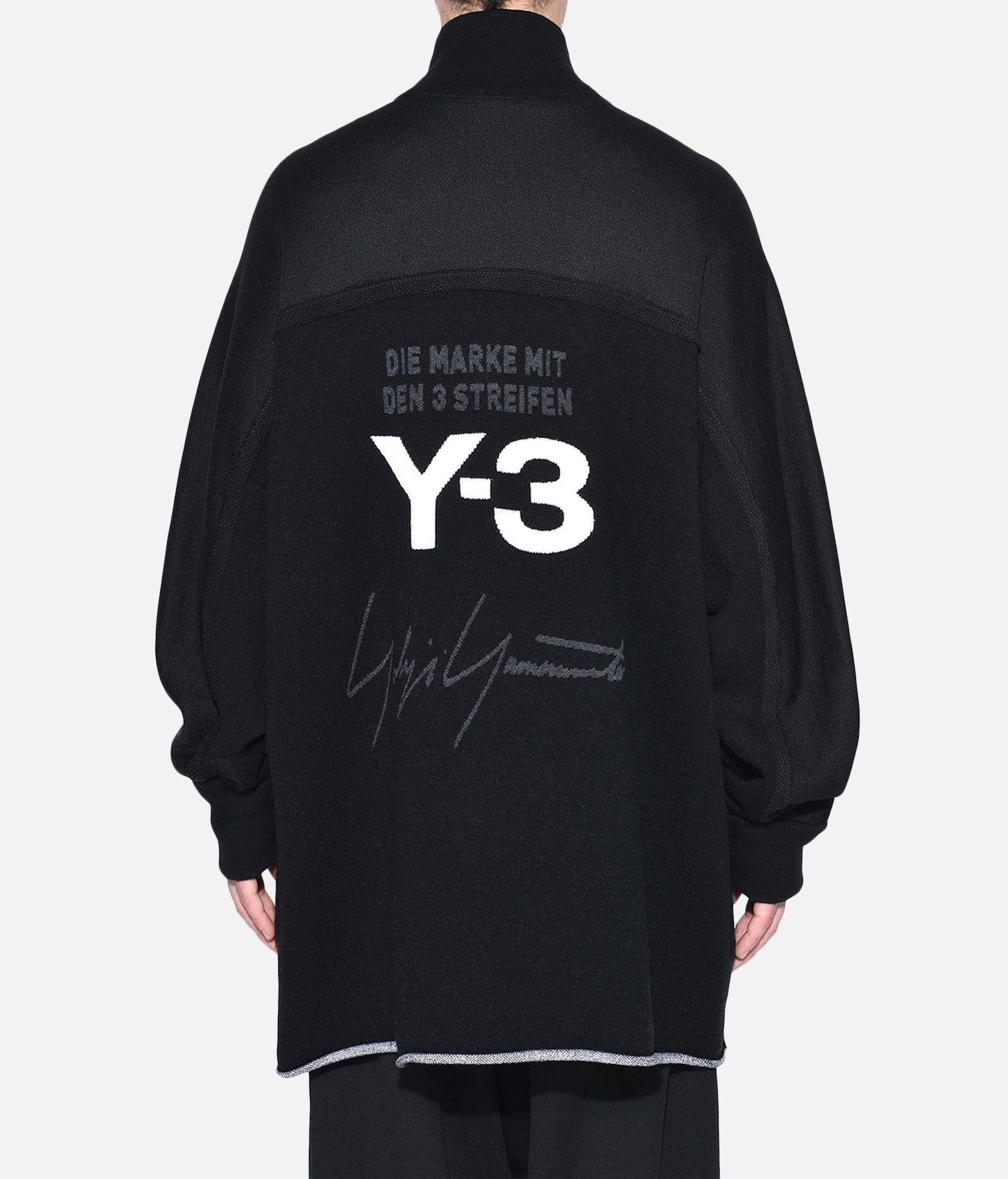 Y-3 Y-3 Knitted Stacked Logo Parka Blazer Man d