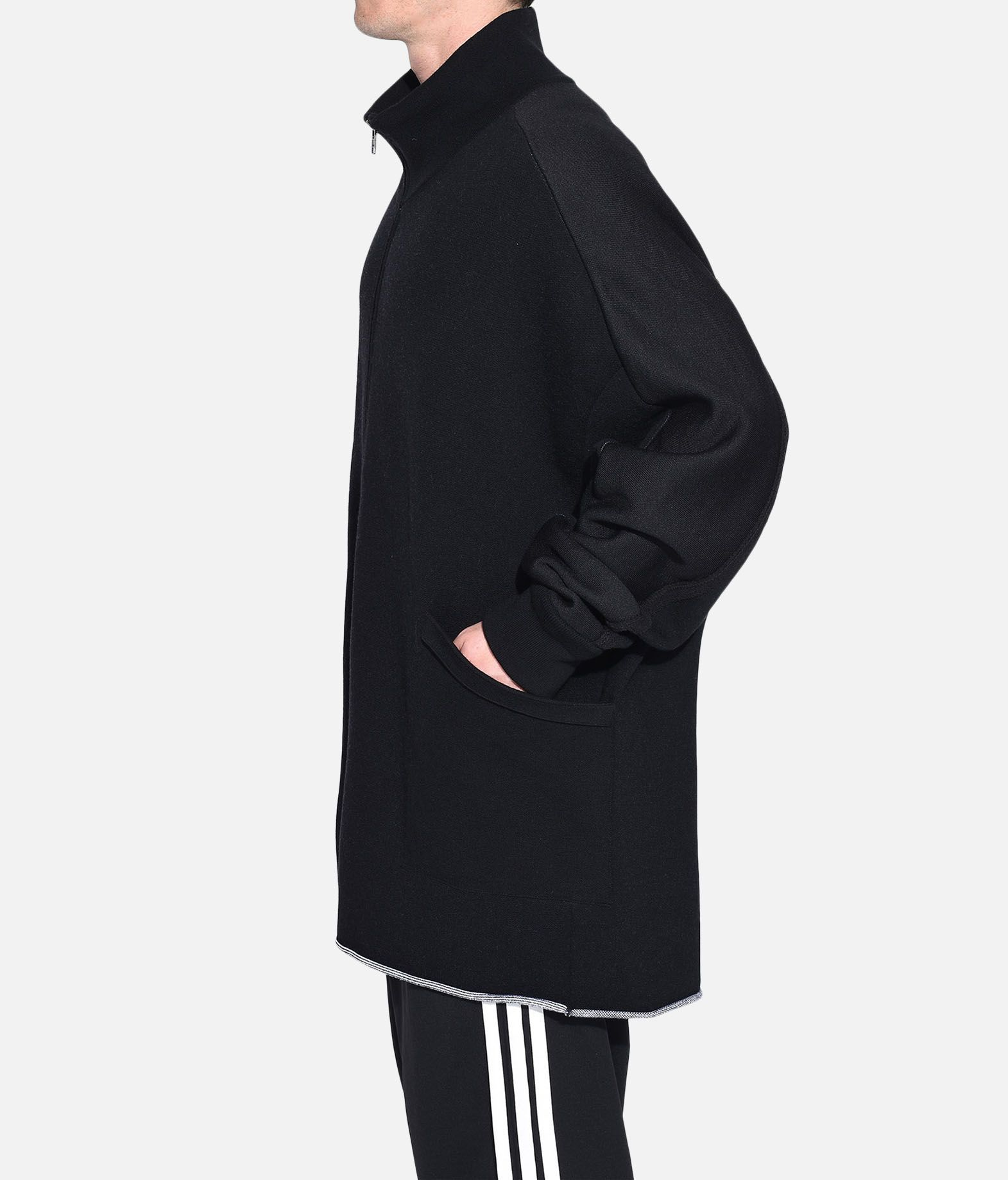 Y-3 Y-3 Knitted Stacked Logo Parka Blazer Man e