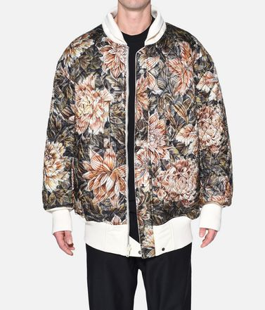 Y-3 Mid-length jacket Man Y-3 AOP Reversible Oversize Bomber Jacket r