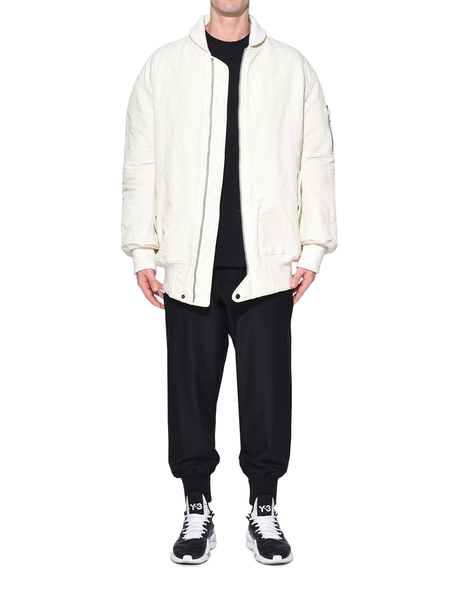 Y-3 Y-3 AOP Reversible Oversize Bomber Jacket Mid-length jacket Man a