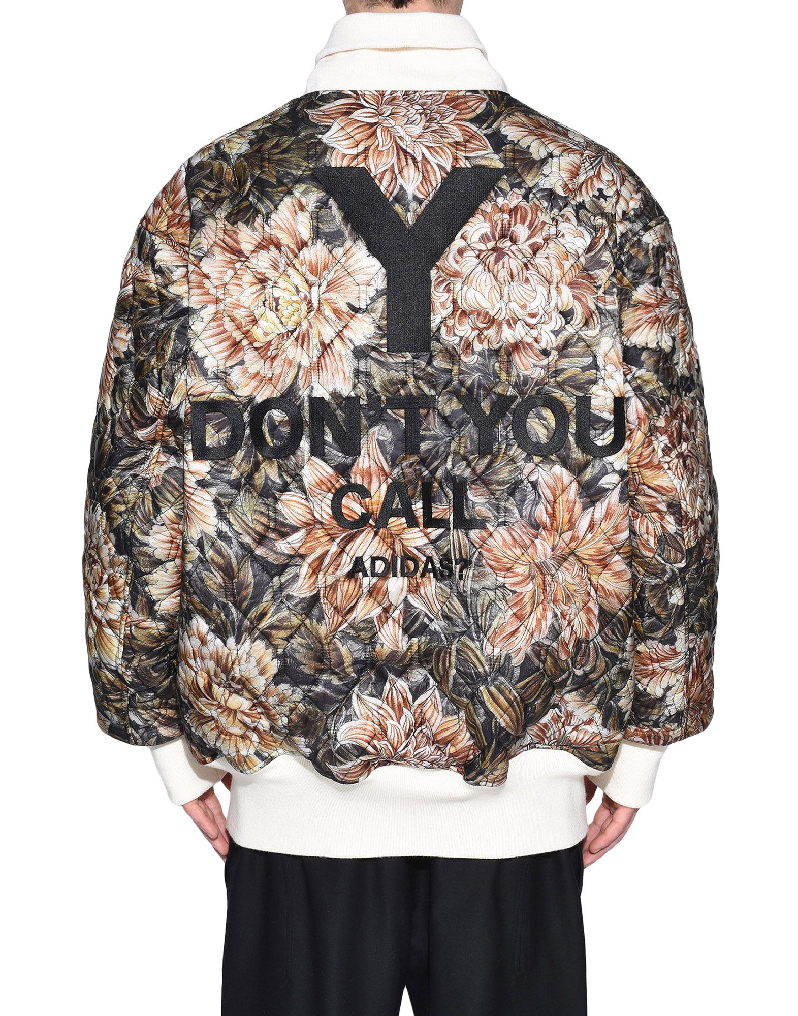 Y-3 Y-3 AOP Reversible Oversize Bomber Jacket Mid-length jacket Man d