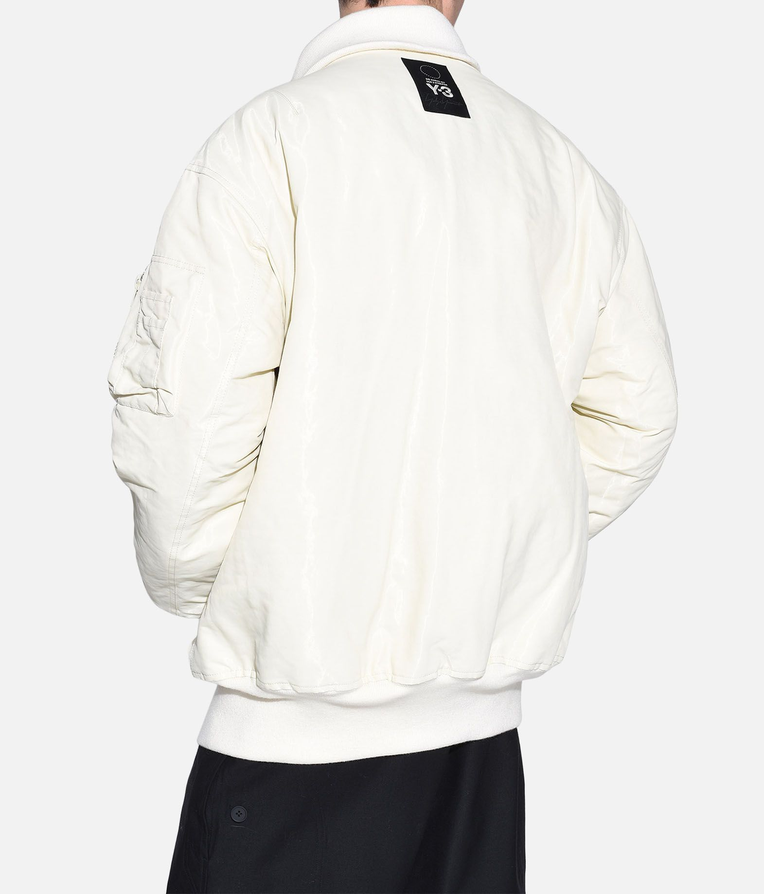 Y-3 Y-3 AOP Reversible Oversize Bomber Jacket Mid-length jacket Man e