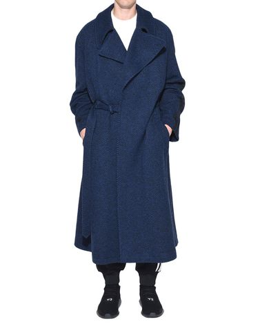 Y-3 Coat Man Y-3 Tailored Wool Coat r