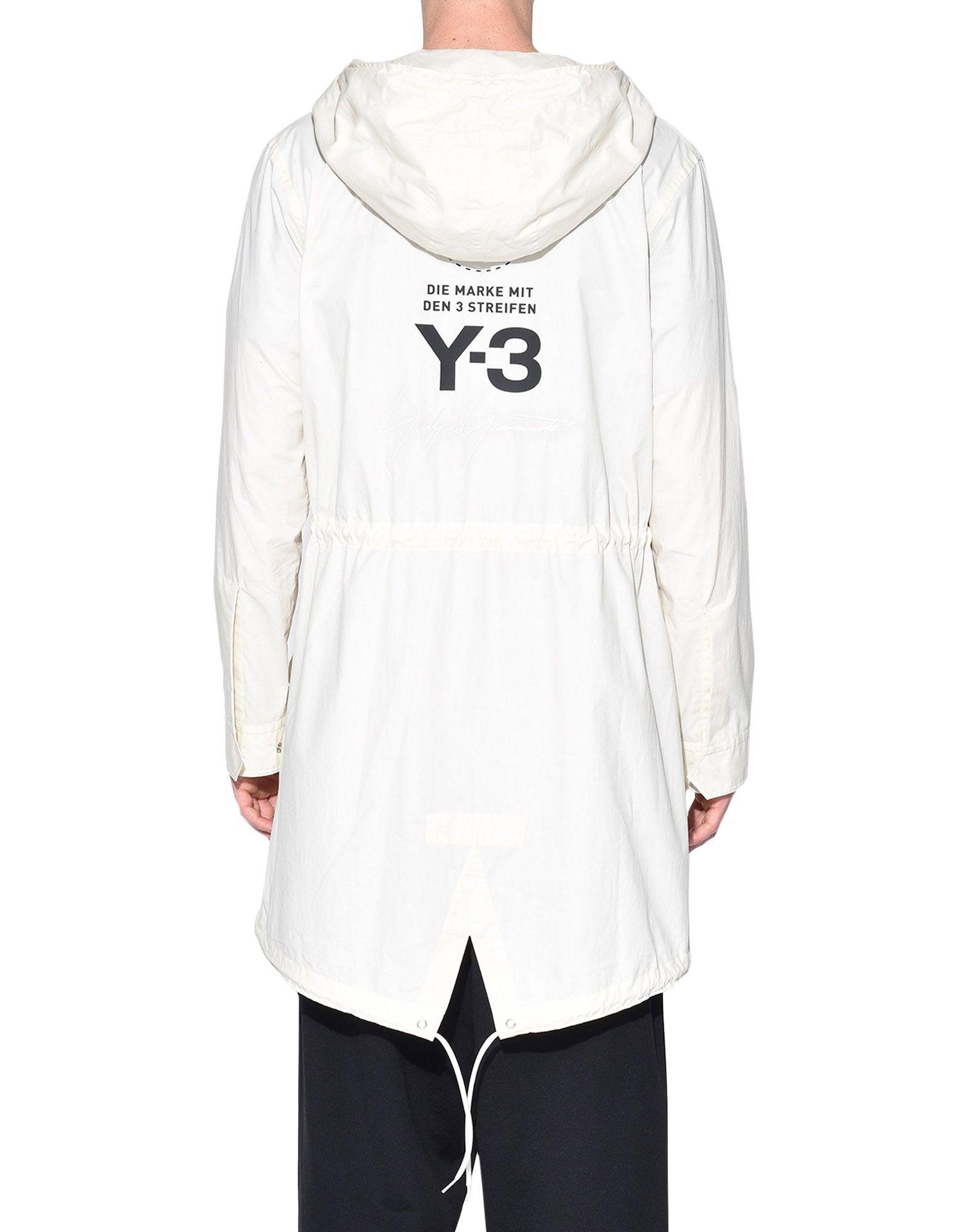 Y-3 Y-3 Mod Parka Shirt フォーマルジャケット メンズ d