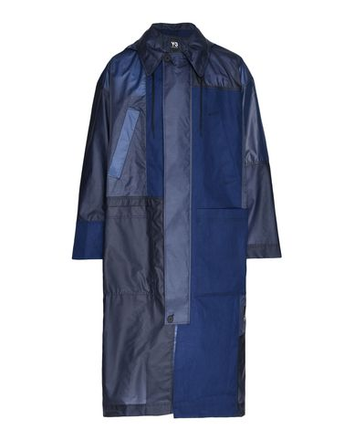 Y-3 Patchwork Long Coat