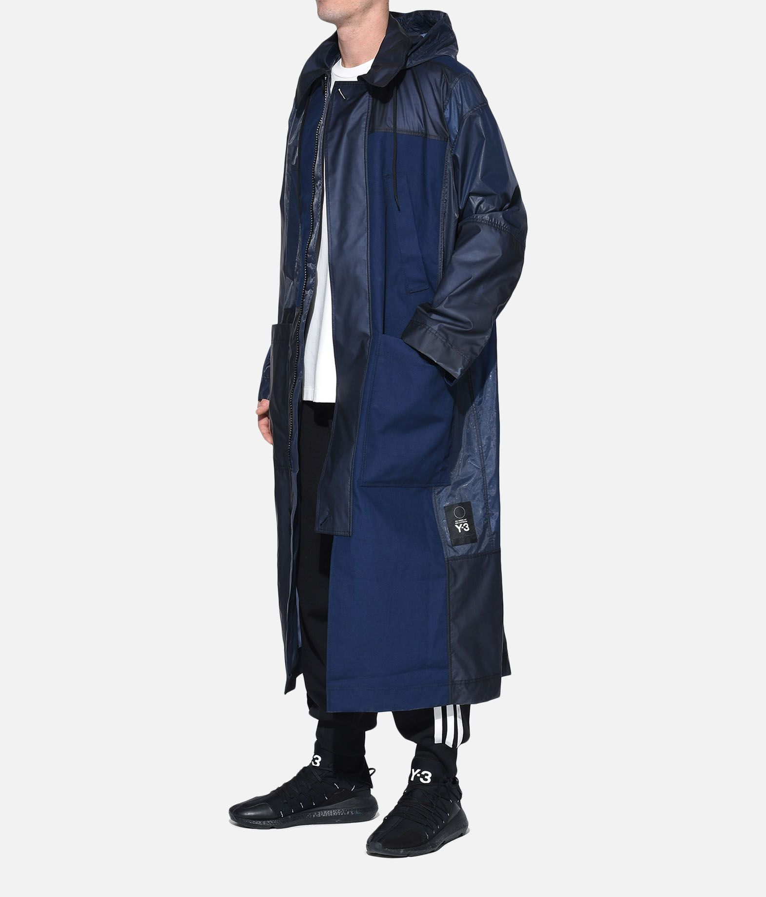 Y-3 Y-3 Patchwork Long Coat Coat Man a
