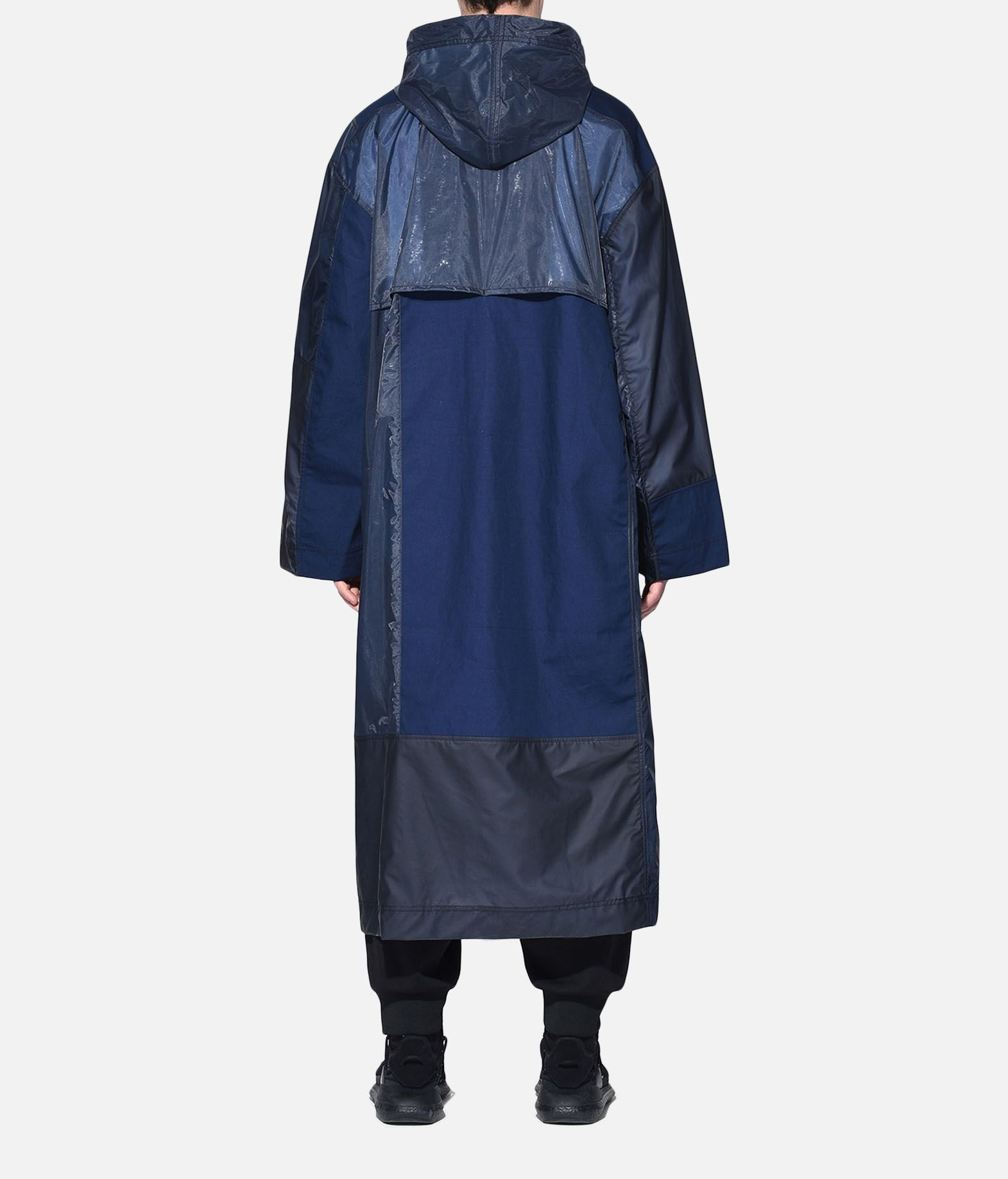 Y-3 Y-3 Patchwork Long Coat Coat Man d
