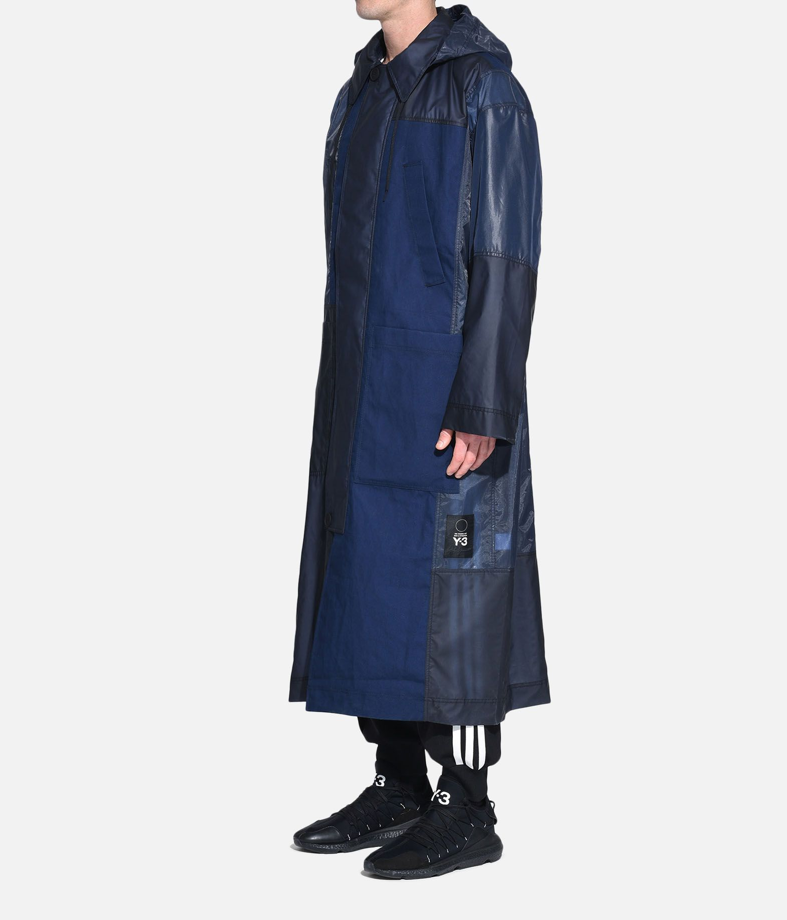 Y-3 Y-3 Patchwork Long Coat Coat Man e