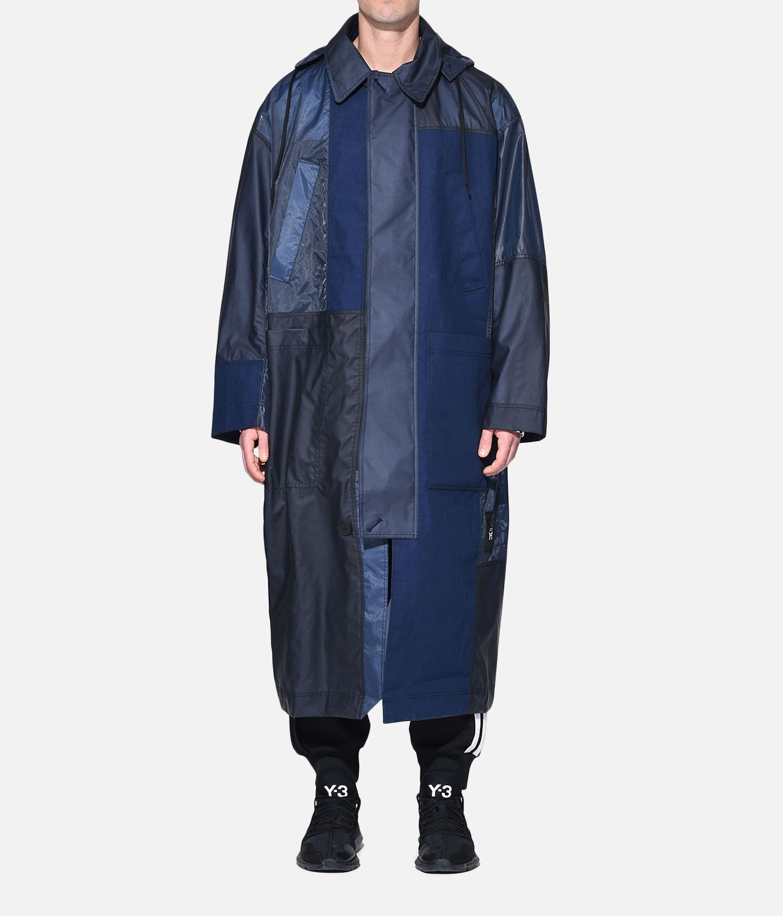 Y-3 Y-3 Patchwork Long Coat Cappotto Uomo r