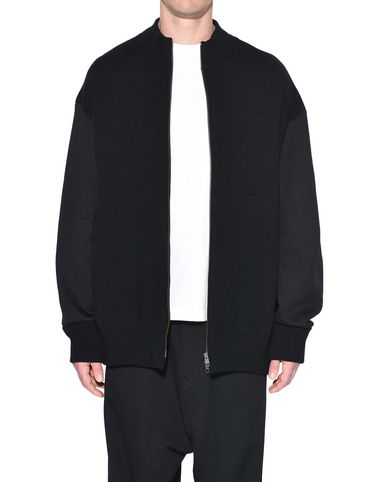Y-3 Blazer Man Y-3 Knitted Stacked Logo Blouson r