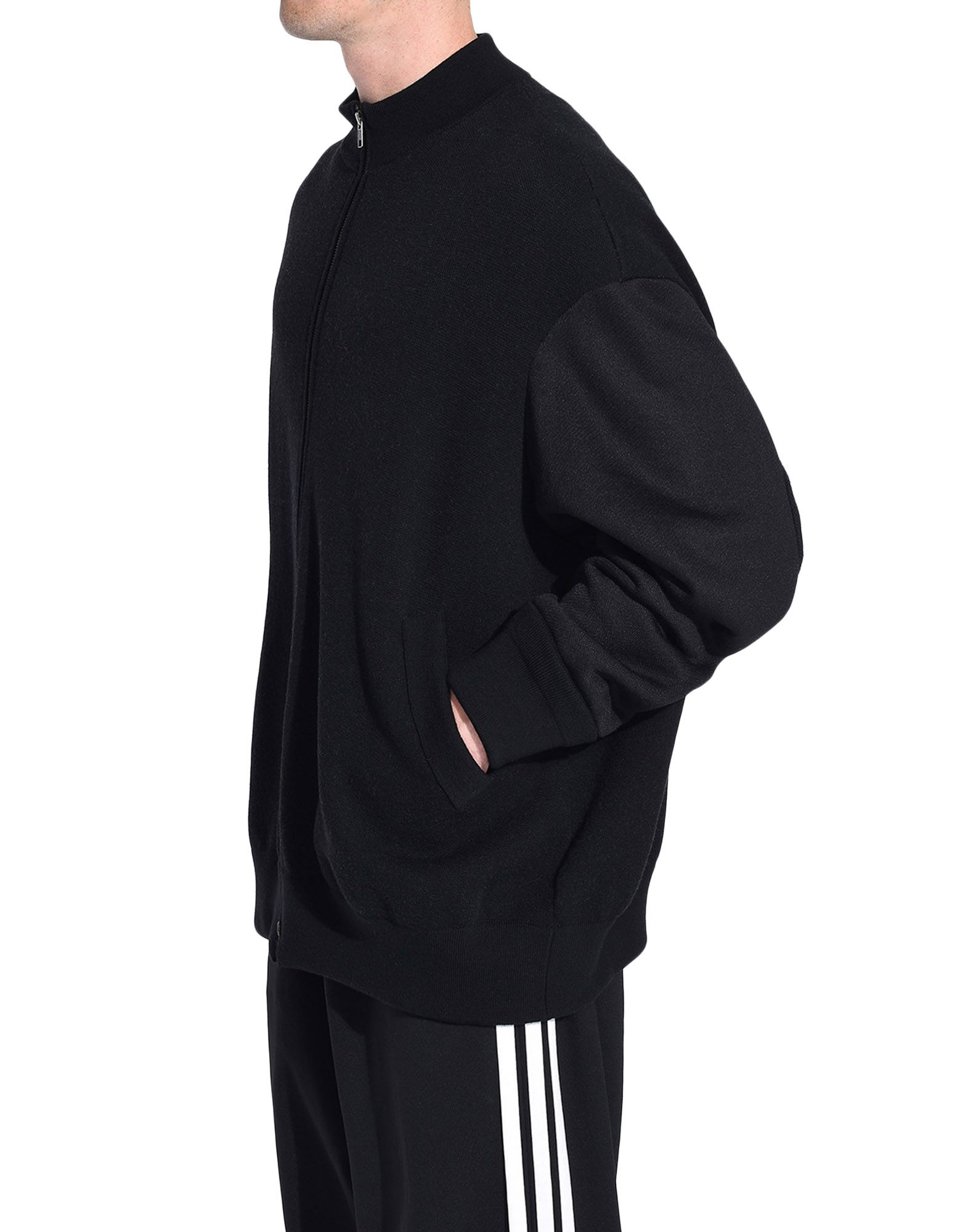 Y-3 Y-3 Knitted Stacked Logo Blouson Blazer Man e