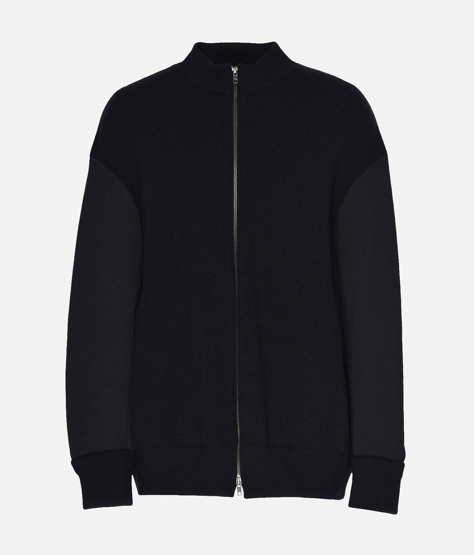 Y-3 Y-3 Knitted Stacked Logo Blouson Blazer Man f