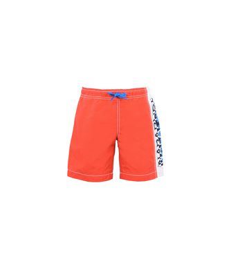 NAPAPIJRI K HORUS JUNIOR KID SWIMMING TRUNKS,RED