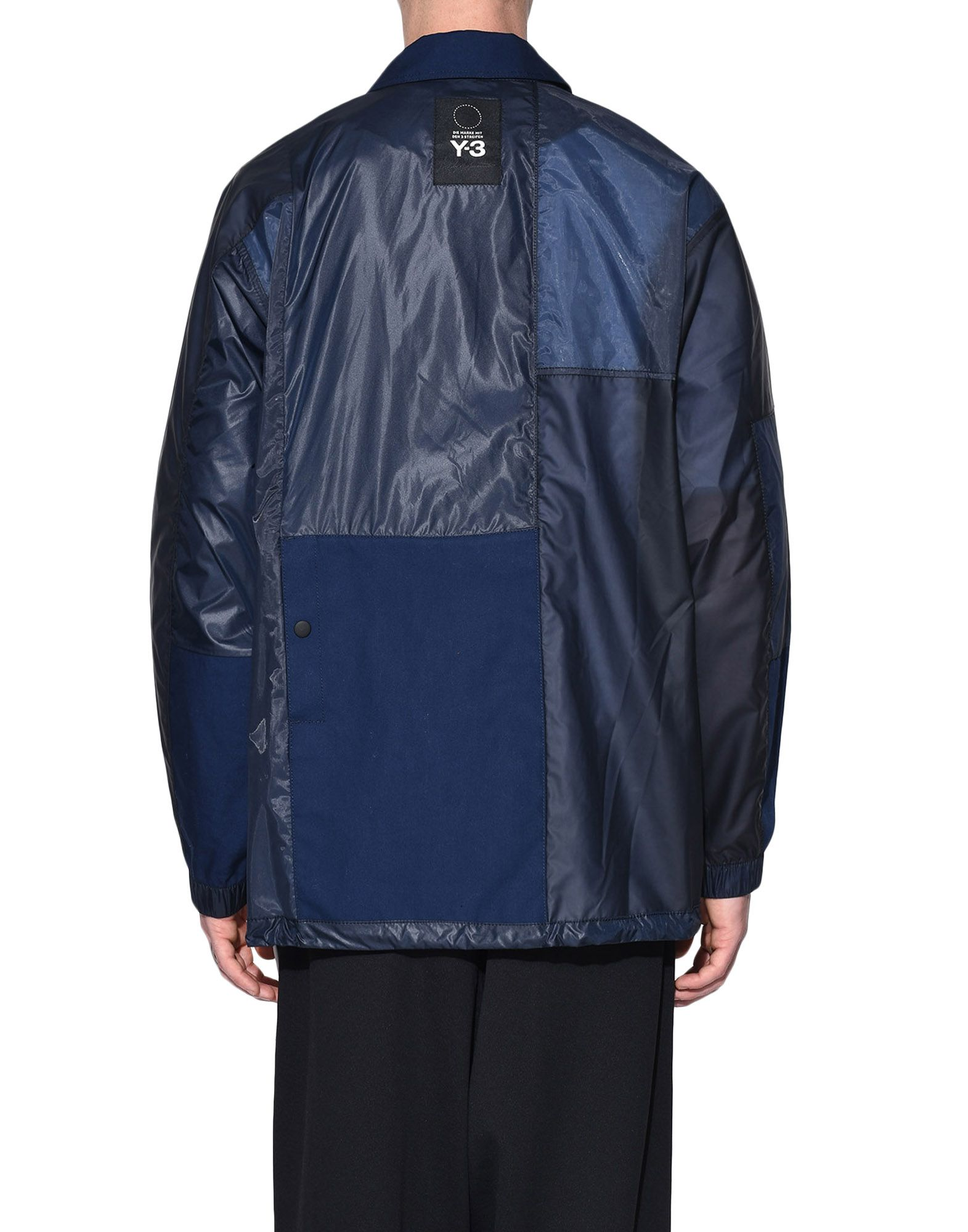 Y-3 Y-3 Patchwork Coach Jacket Jacket Man d