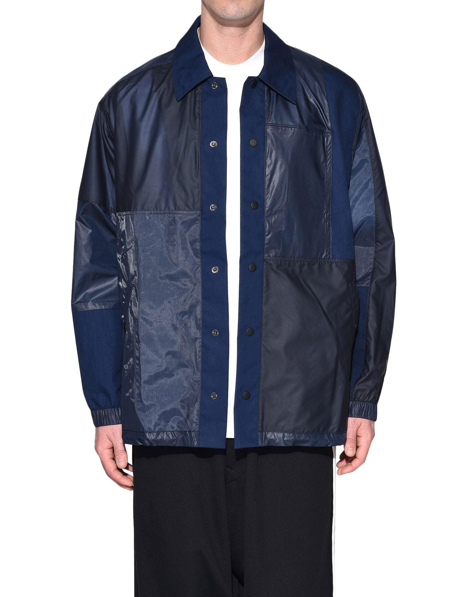 Y-3 Y-3 Patchwork Coach Jacket Jacket Man r