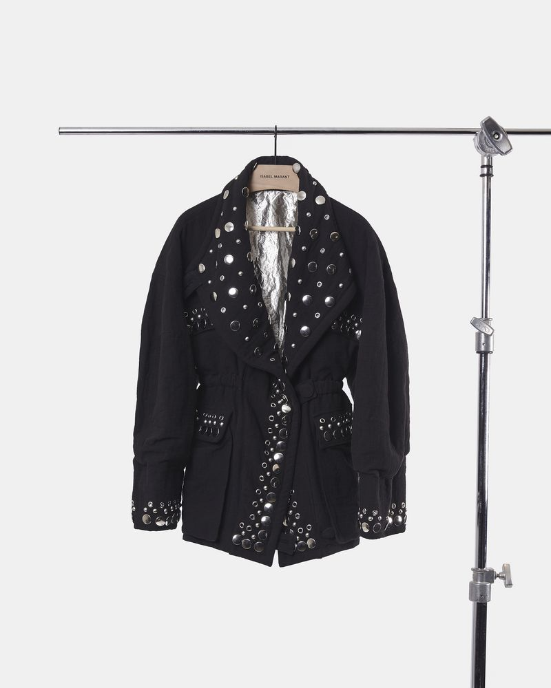 EMMETIS embellished tube-knit jacket  ISABEL MARANT