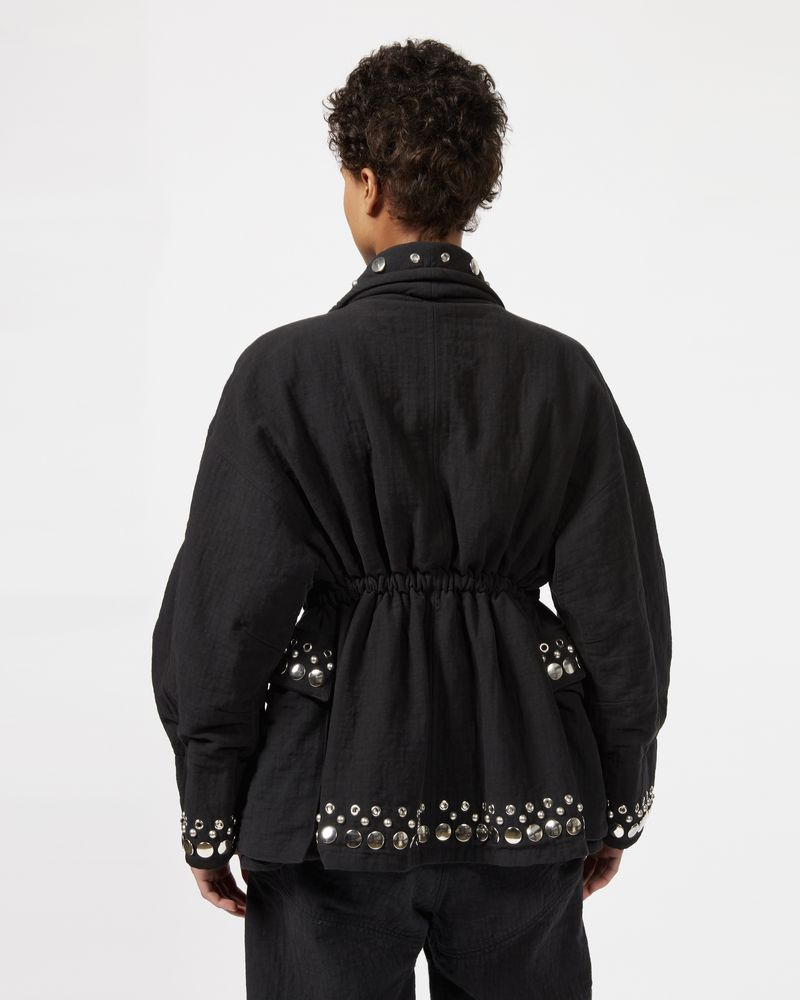 EMMETIS embroidered tube jacket ISABEL MARANT
