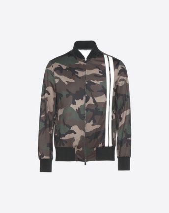 VALENTINO UOMO Down jacket U Reversible Camoushuffle down coat f