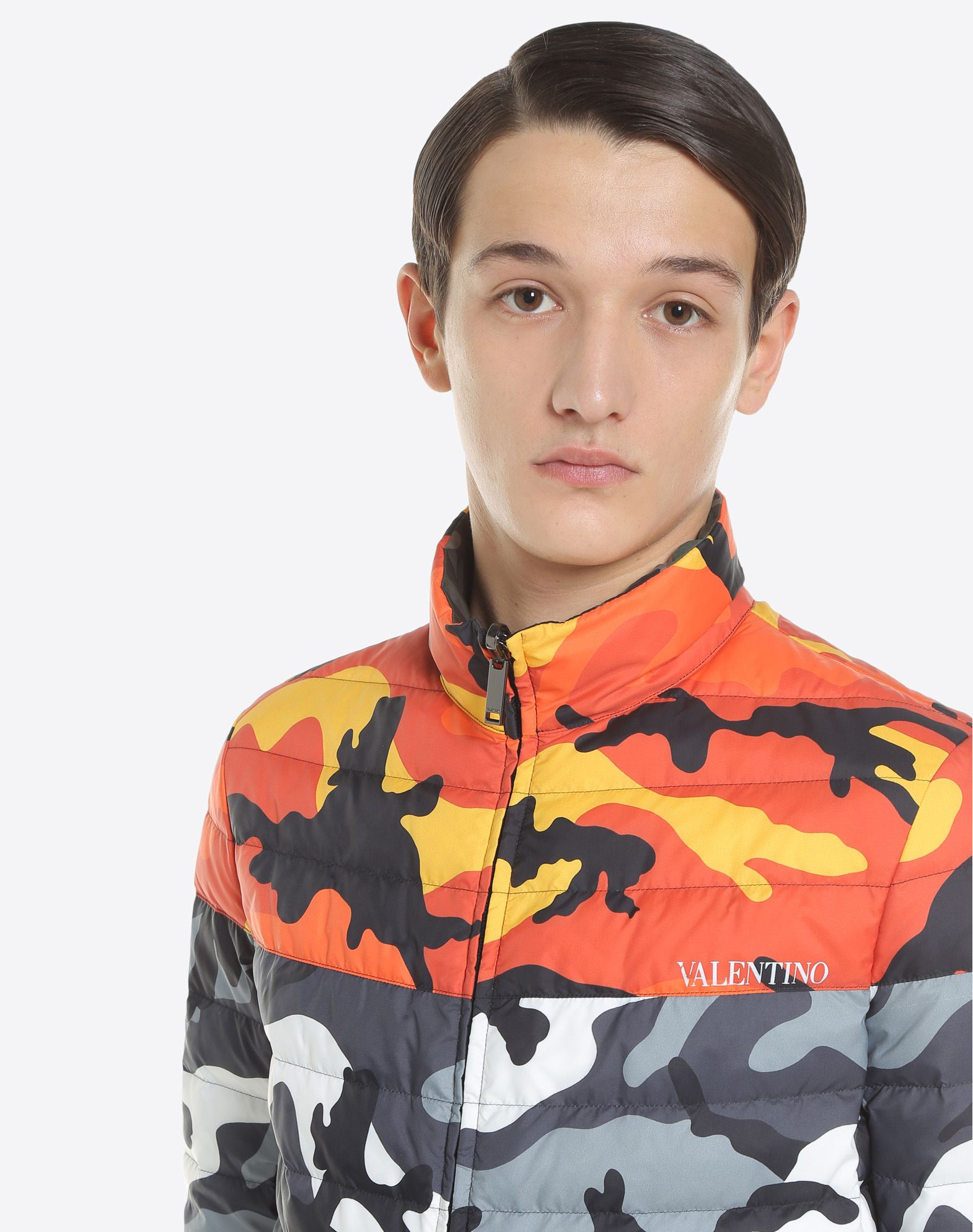 VALENTINO UOMO Reversible Camoushuffle down coat Down jacket U a
