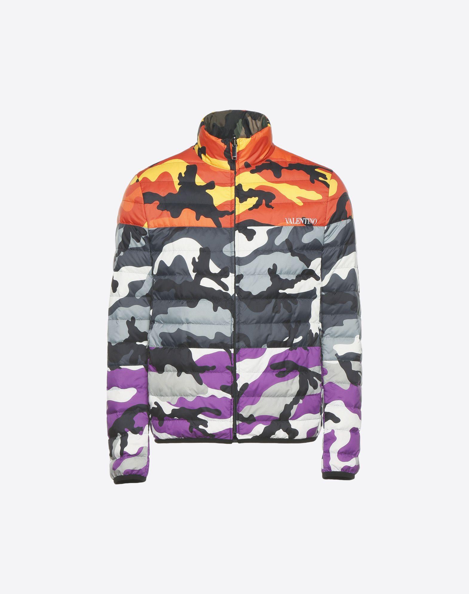 VALENTINO UOMO Reversible Camoushuffle down coat Down jacket U f