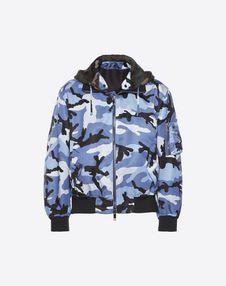 VALENTINO JACKET U Camouflage bomber jacket f