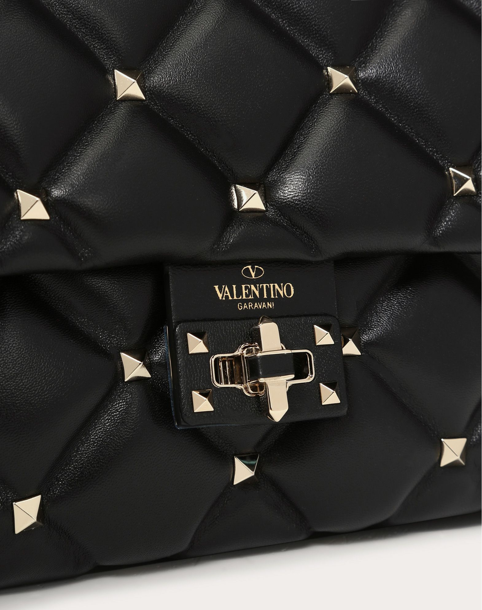 VALENTINO Candystud Top Handle Bag HANDBAG D a