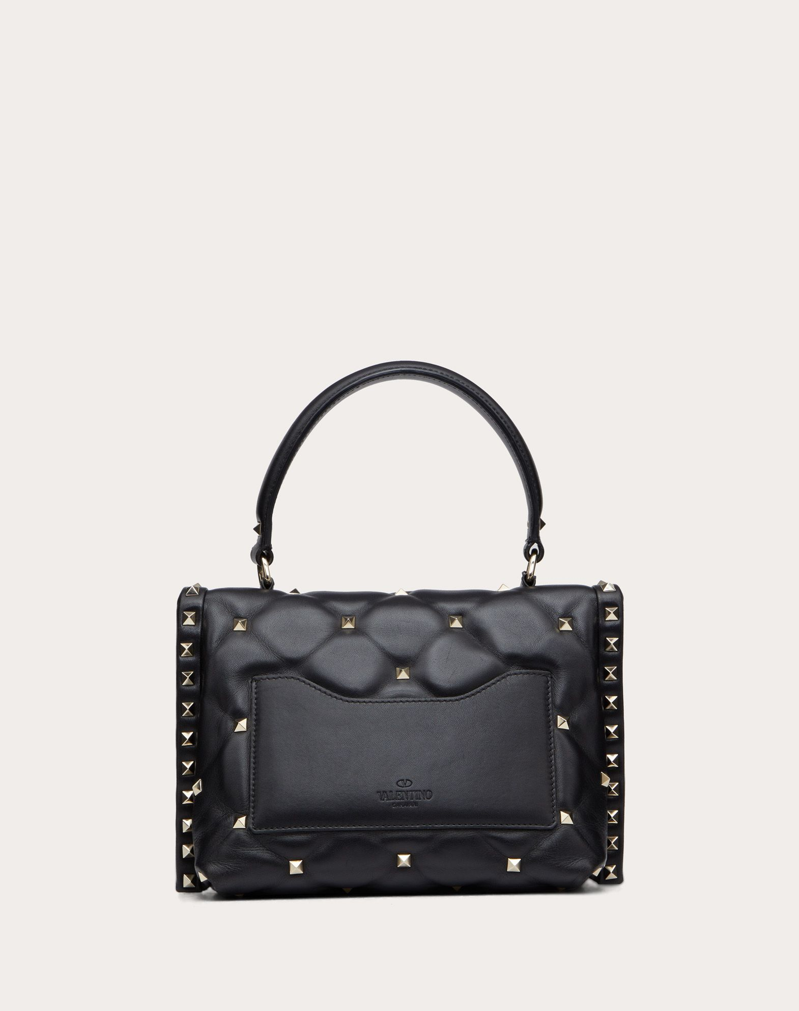 VALENTINO Candystud Top Handle Bag HANDBAG D d