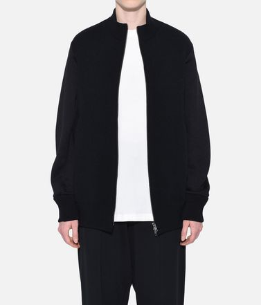Y-3 Blazer Woman Y-3 Knitted Stacked Logo Blouson r
