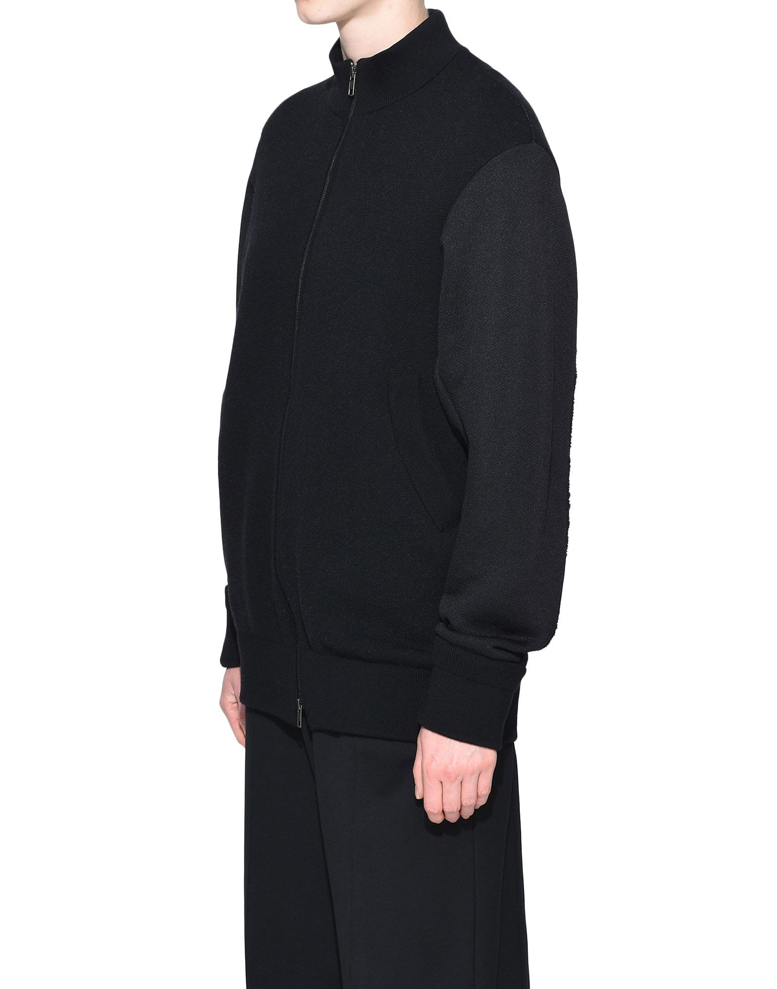 Y-3 Y-3 Knitted Stacked Logo Blouson Blazer Woman e