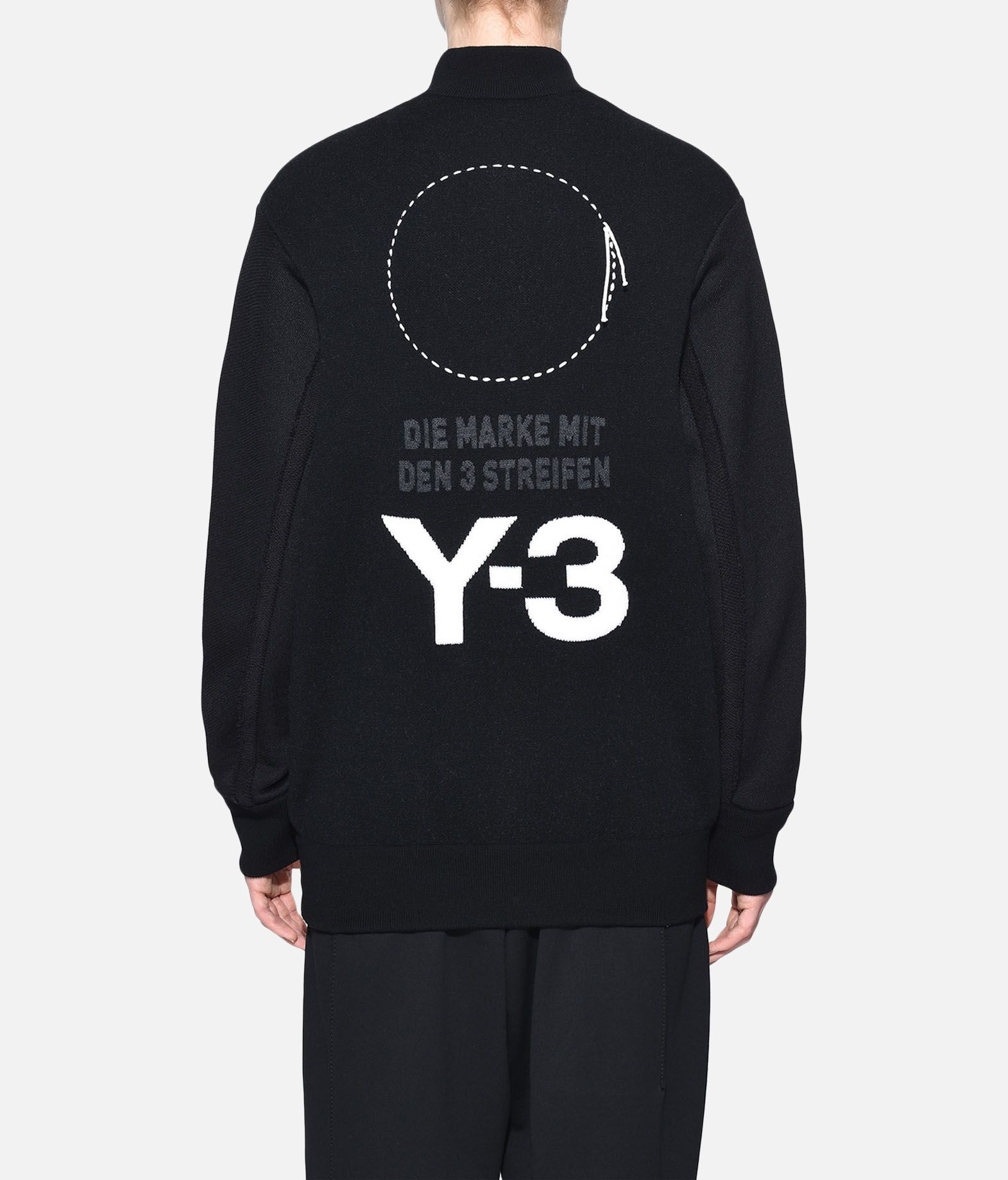 Y-3 Y-3 Knitted Stacked Logo Blouson Blazer Woman d