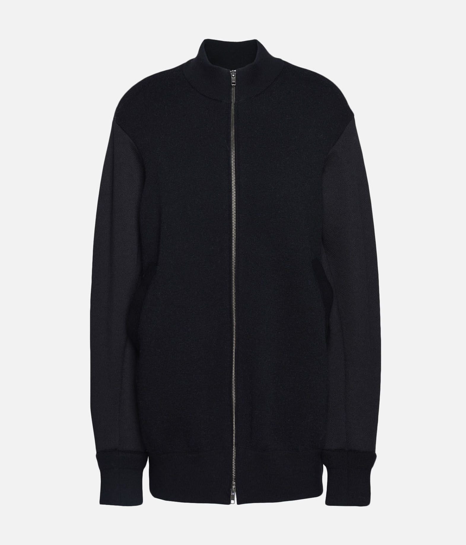 Y-3 Y-3 Knitted Stacked Logo Blouson Blazer Woman f