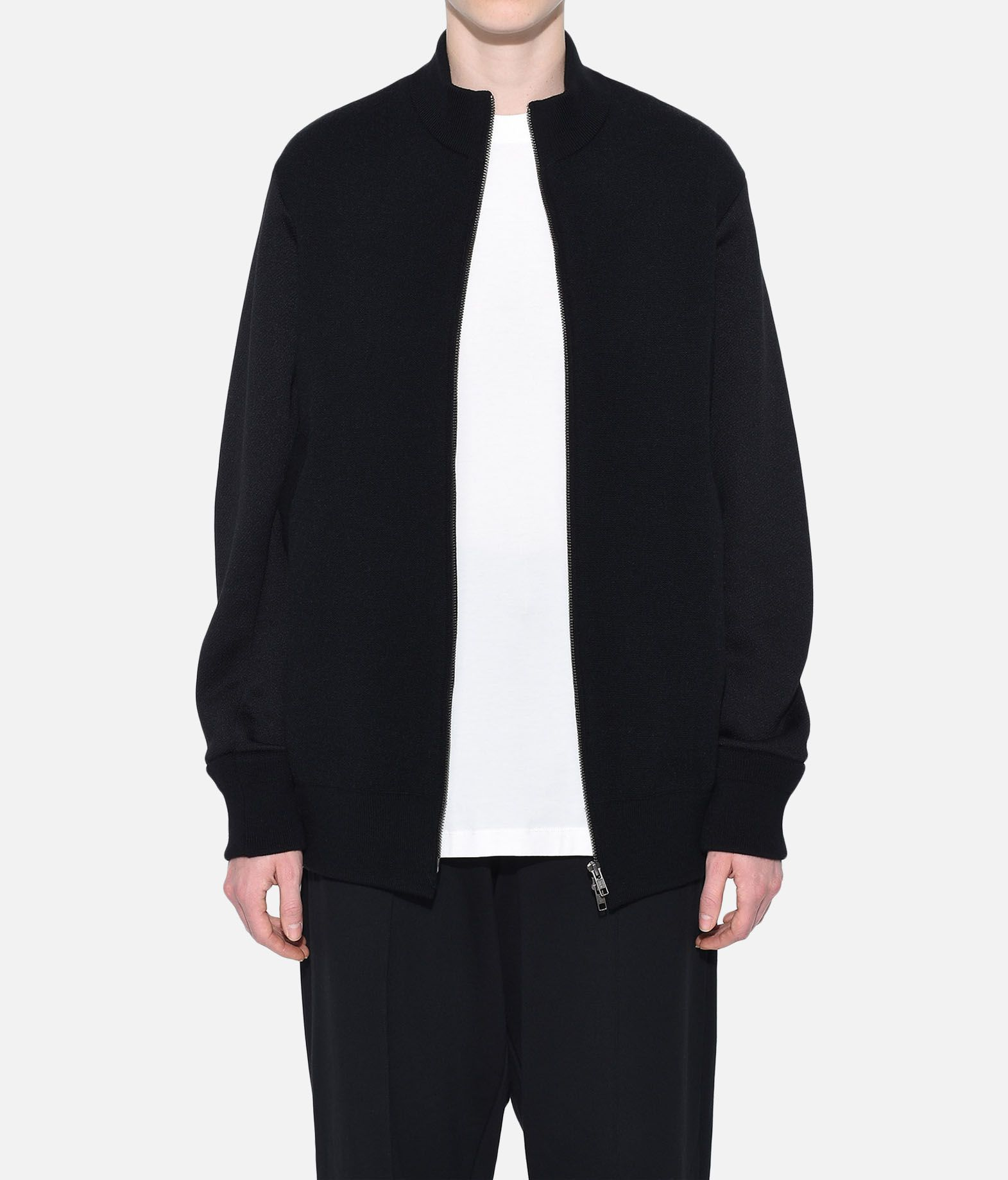 Y-3 Y-3 Knitted Stacked Logo Blouson Blazer Woman r